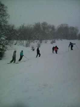 たけ小屋スキー合宿